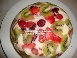 торт летнее настроение рецепт