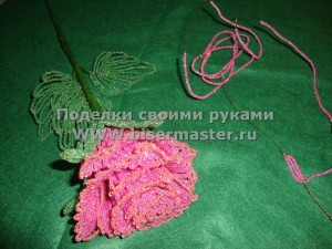 Роза из бисера судак 2012