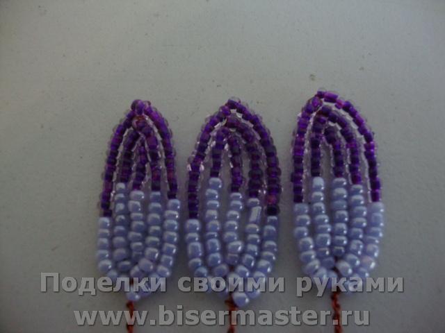 Восхитительные георгины из бисера своими руками