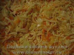 вкусная маринованная капустка